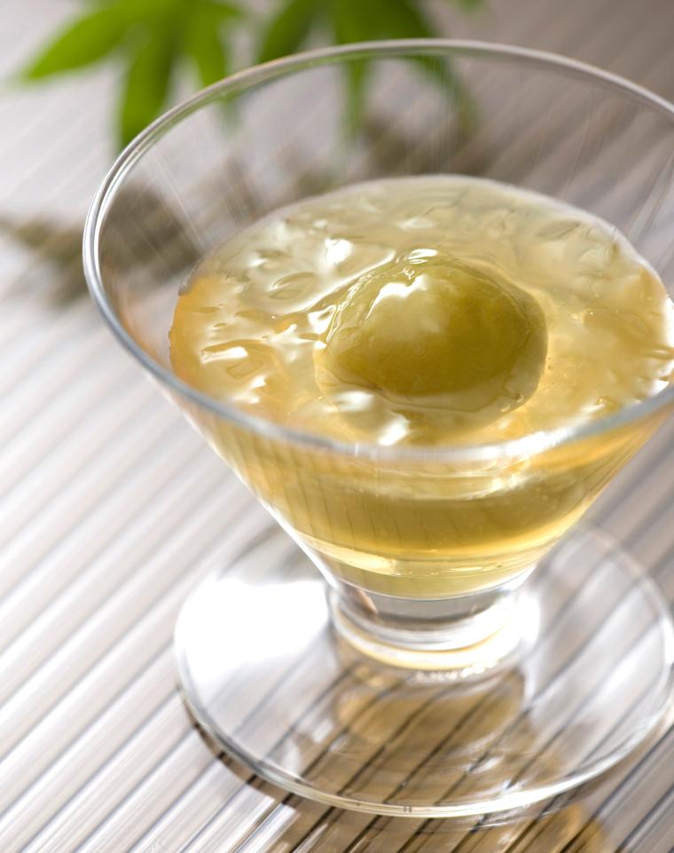 梅酒ジュレ